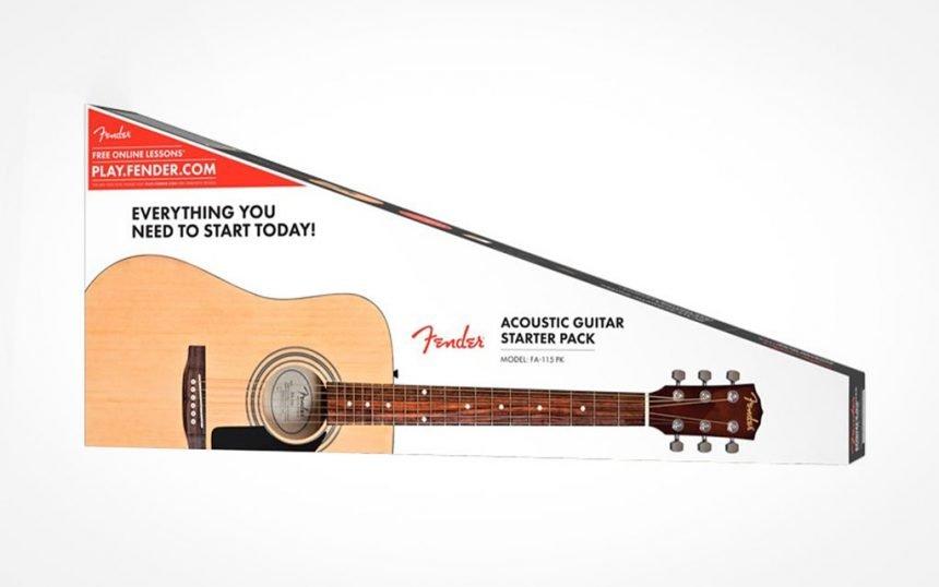 Fender FA-115 pack guitarra acustica