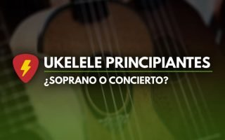 ukelele soprano o concierto