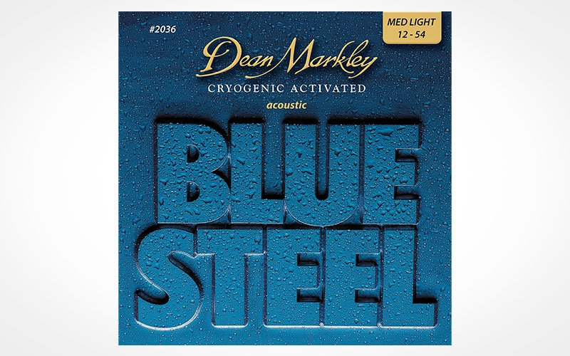 Cuerdas guitarra acústica Dean Markley Blue Steel